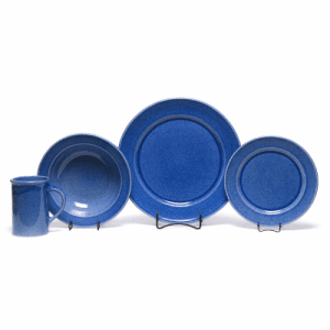 American Blue Classic Dinner Plate Set for One