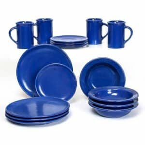 American Blue Craftline Dinner Plate Set for Four