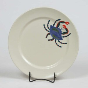 Blue Crab Classic Dinner Plate