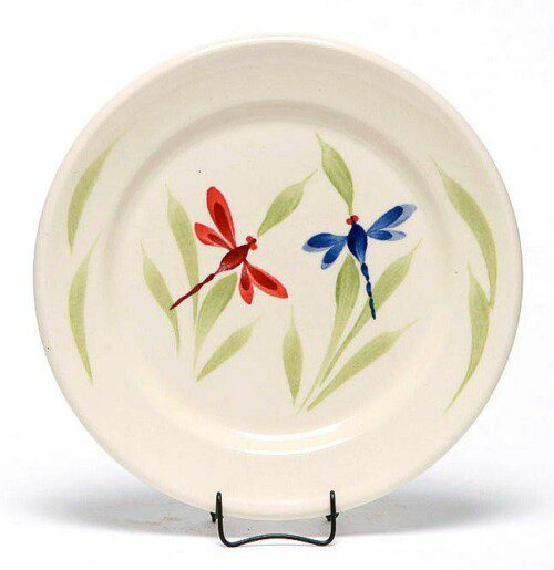 Dragonfly Classic Salad Plate