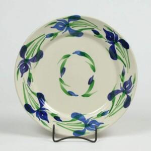 Field of Iris Classic Dinner Plate