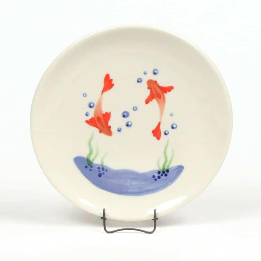 goldfish-child-s-plate
