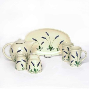 Lavender Tea Set