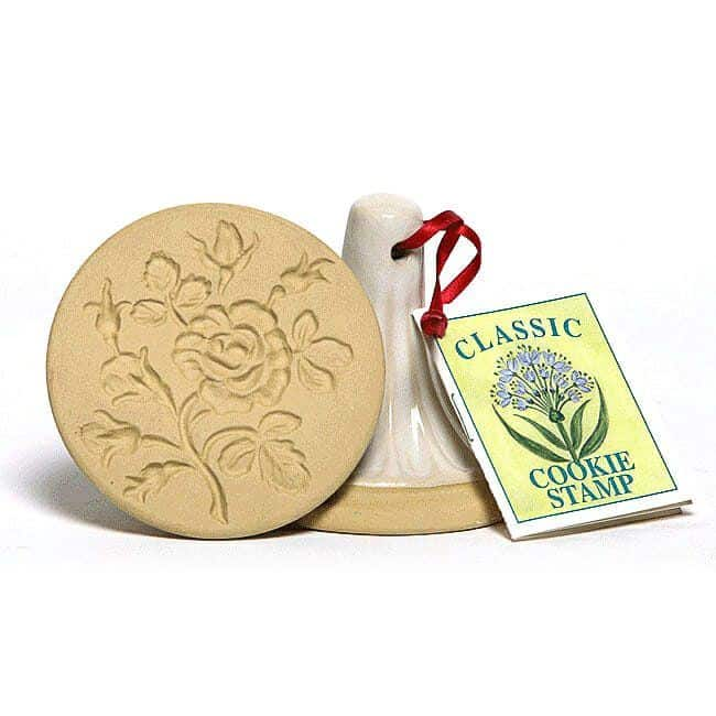 Moss Rose Cookie Stamp