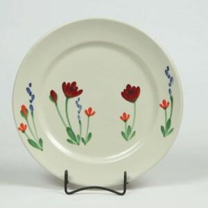 Red Poppy Classic Dinner Plate