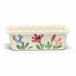 Red Poppy Small Loaf Pan