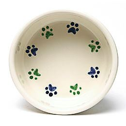 Round Prints Large Cool Pet Bowl