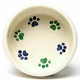 Round Prints Small Cool Pet Bowl
