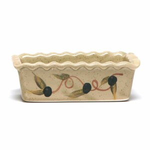 Tuscan Olive Small Loaf Pan