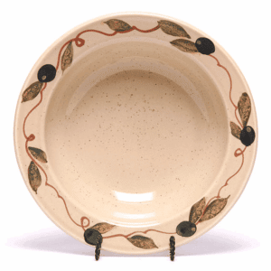 Tuscan Olive Classic/Coupe Soup Bowl