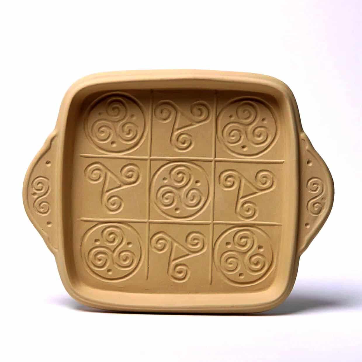 Celtic Triskele Shortbread Pan