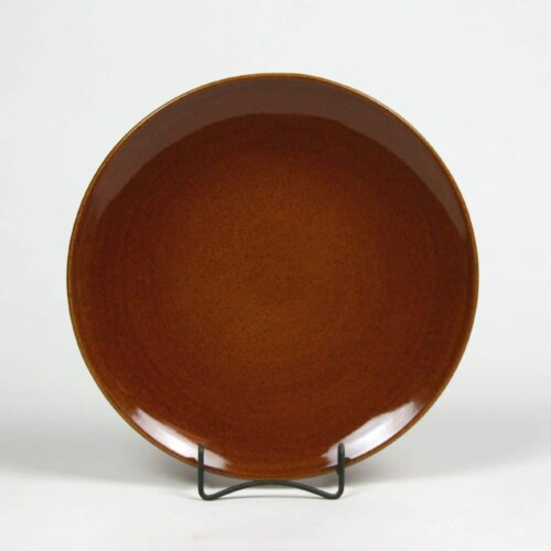Copper Clay Craftline Dinner Plate