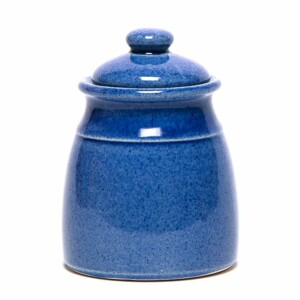 American Blue Sugar Jar