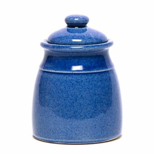 American Blue Sugar Jar