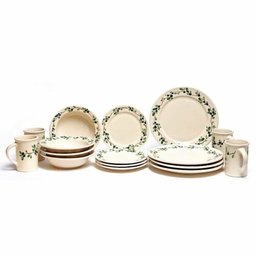 Blueberry Classic Dinner Plate Set for Four