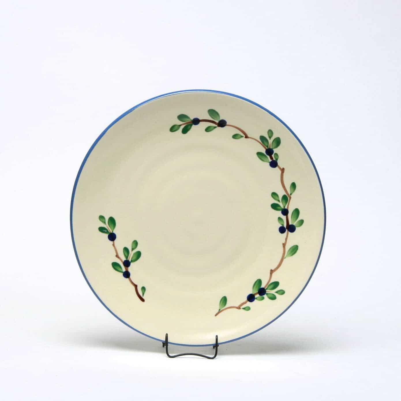 Blueberry Craftline Salad Plate