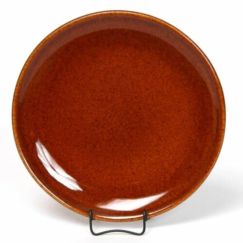Copper Clay Coupe Salad Plate