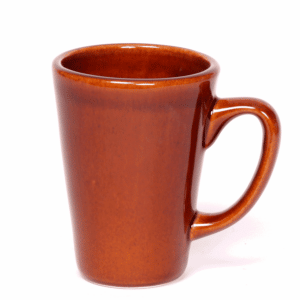 Copper Clay Latte Mug