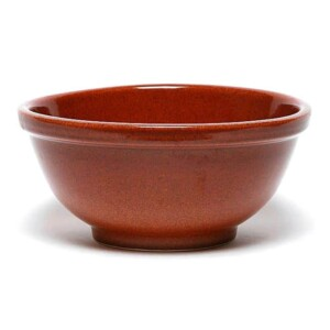 Copper Clay Pasta Bowl
