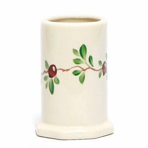 Cranberry Toothbrush Holder