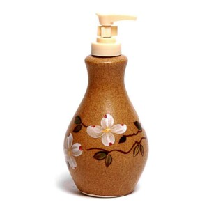 Dogwood Soap/Lotion Bottle