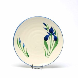 Field of Iris Craftline Salad Plate