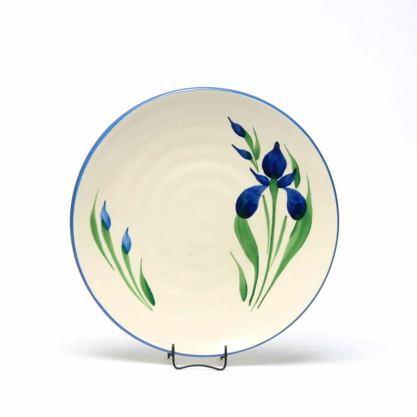 Field of Iris Craftline Salad Plate
