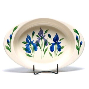 Field of Iris Large Casserole Dish