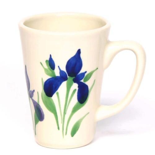Field of Iris Latte Mug