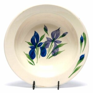 Field of Iris Classic/Coupe Soup Bowl