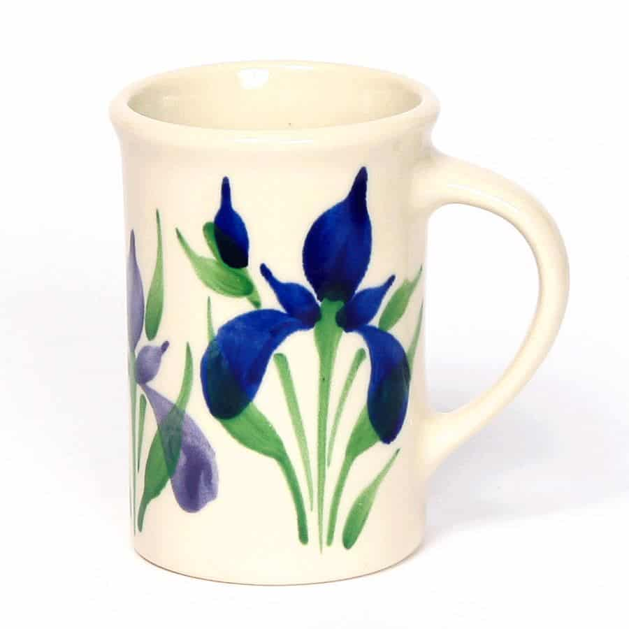 Field of Iris Tea Cup