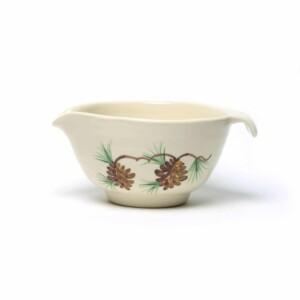 Pinecone Batter Bowl