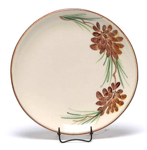 Pinecone Coupe Salad Plate