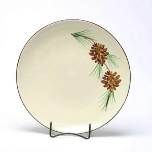 Pinecone Craftline Dinner Plate