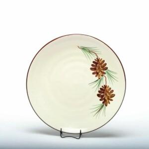 Pinecone Craftline Salad Plate