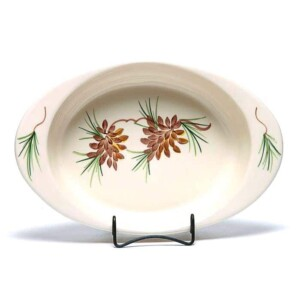 Pinecone Large Casserole Dish