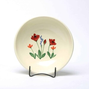 Red Poppy Craftline Bowl