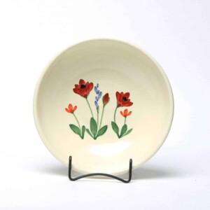 Red Poppy Craftline Bowl