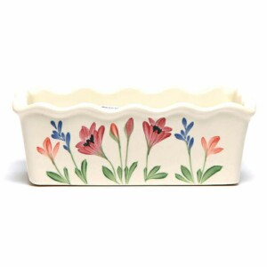 Red Poppy Large Loaf Pan