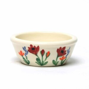 Red Poppy Ramekin