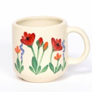 Red Poppy Signature Mug