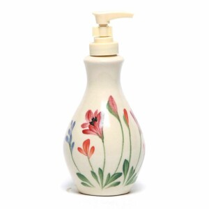 Red Poppy Soap/Lotion Bottle
