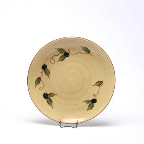 Tuscan Olive Craftline Salad Plate