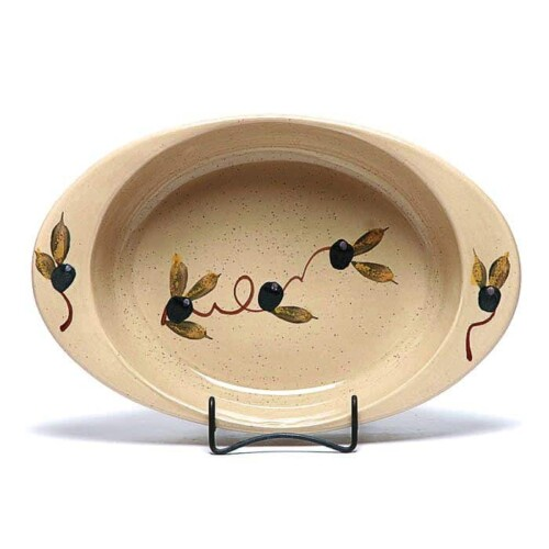 Tuscan Olive Large Casserole Dish