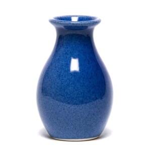 American Blue Bud Vase
