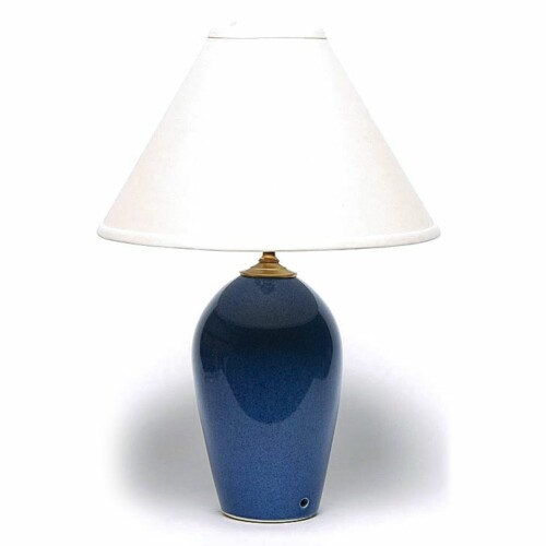 American Blue Large Lamp