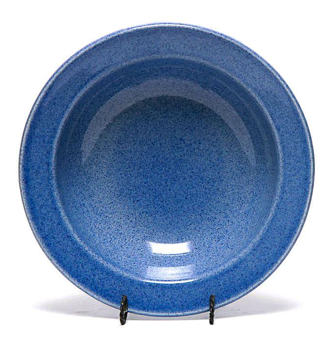 American Blue Large Serving Bowl