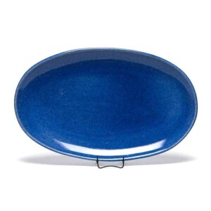 American Blue Oval Platter