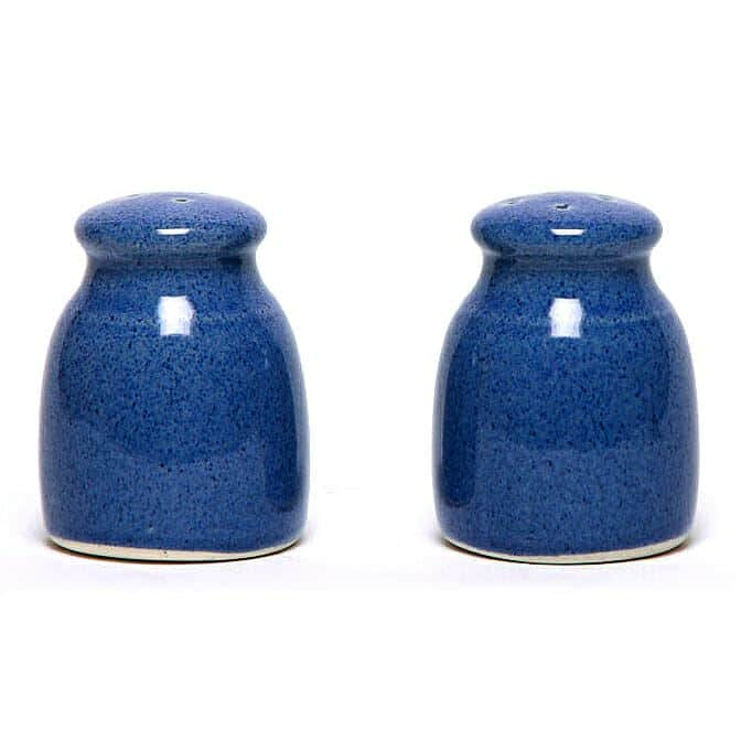 American Blue Salt and Pepper Shaker Set