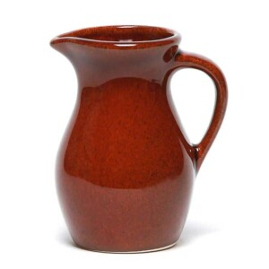Copper Clay Posie Pitcher